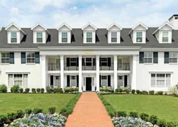 Kappa Kappa Gamma house at The University of Arkansas
